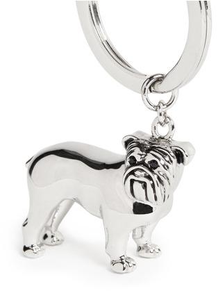 细节 - 点击放大 - BABETTE WASSERMAN - 斗牛犬造型钥匙扣
