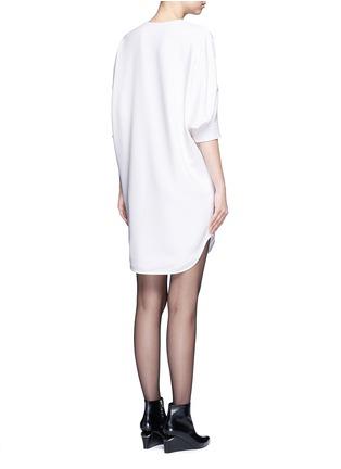 背面 - 点击放大 - ALEXANDER WANG  - 蝙蝠袖单色连衣裙