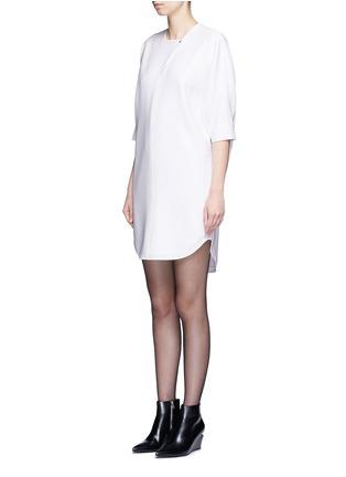 正面 -点击放大 - ALEXANDER WANG  - 蝙蝠袖单色连衣裙