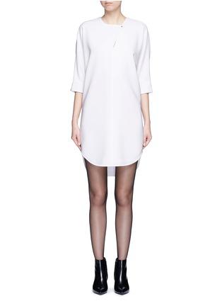 首图 - 点击放大 - ALEXANDER WANG  - 蝙蝠袖单色连衣裙