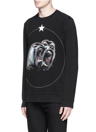 正面 -点击放大 - GIVENCHY - 猴子图案纯棉卫衣