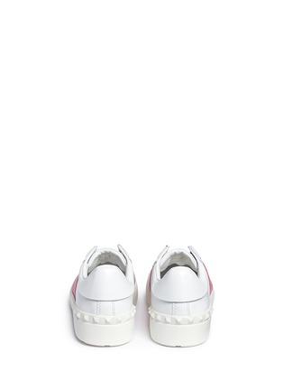 背面 - 点击放大 - Valentino - 拼色系带运动鞋