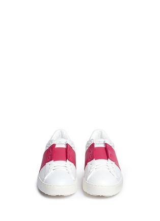 正面 - 点击放大 - Valentino - 拼色系带运动鞋