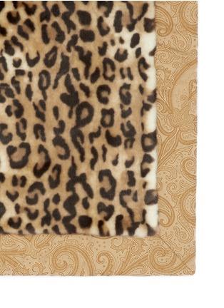 细节 - 点击放大 - ETRO - LEICESTER Belgrave豹纹图案人造皮毛被