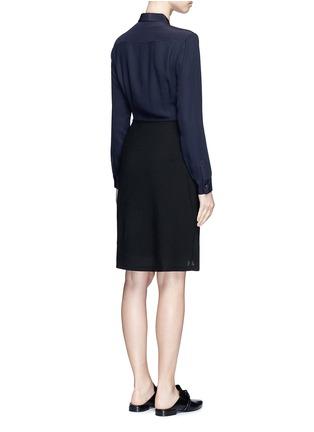 背面 - 点击放大 - 3.1 PHILLIP LIM - 钮扣孔眼装饰拼接连衣裙
