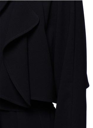 细节 - 点击放大 - TIBI - 单色绉绸风衣