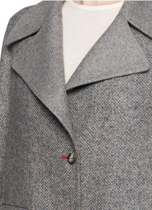 细节 - 点击放大 - The Row - 'Sonja' virgin wool-silk tweed coat