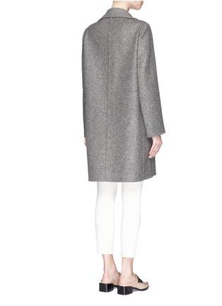 背面 - 点击放大 - THE ROW - 'Sonja' virgin wool-silk tweed coat