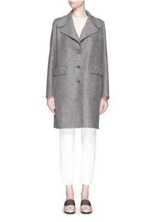 首图 - 点击放大 - The Row - 'Sonja' virgin wool-silk tweed coat