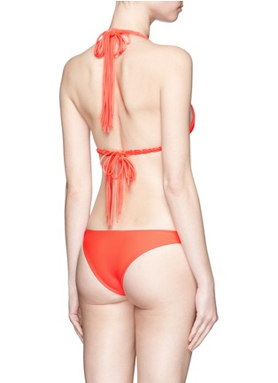 背面 - 点击放大 - MIKOH - INDIES编织系带比基尼泳衣