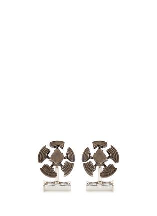 首图 - 点击放大 - DEAKIN & FRANCIS - 破裂碟靶造型纯银袖扣