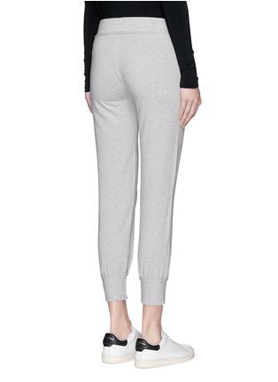 背面 - 点击放大 - NORMA KAMALI - 混色棉质九分长裤