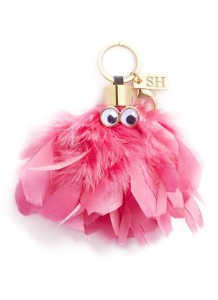 首图 - 点击放大 - SOPHIE HULME - Dolly羽毛怪兽吊坠
