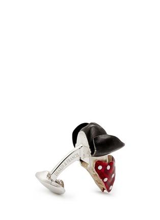 细节 - 点击放大 - DEAKIN & FRANCIS - 海盗骷髅头造型纯银袖扣