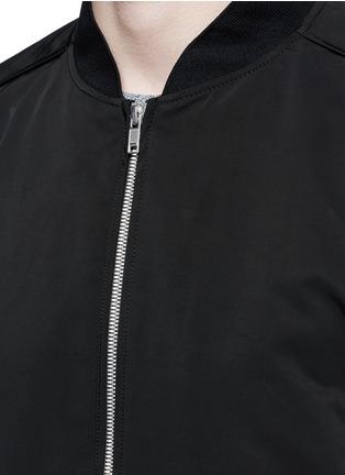 细节 - 点击放大 - THEORY - BRANT纯色棒球外套