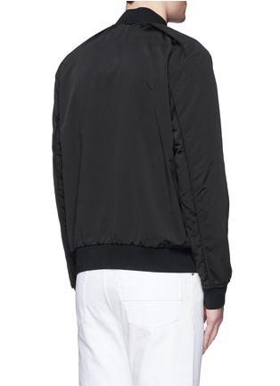 背面 - 点击放大 - THEORY - BRANT纯色棒球外套