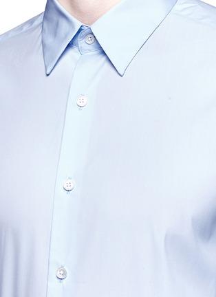 细节 - 点击放大 - THEORY - SYLVAIN混棉衬衫