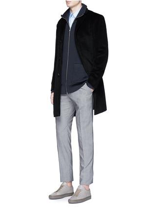模特儿示范图 - 点击放大 - THEORY - SYLVAIN混棉衬衫