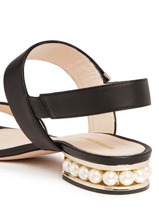 细节 - 点击放大 - NICHOLAS KIRKWOOD - CASATI人造珍珠搭带凉鞋