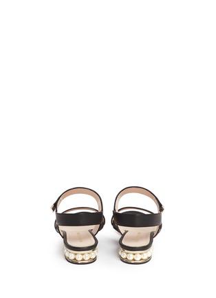 背面 - 点击放大 - NICHOLAS KIRKWOOD - CASATI人造珍珠搭带凉鞋