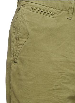 细节 - 点击放大 - SCOTCH & SODA - 单色纯棉斜纹布短裤