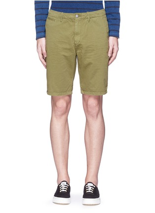 首图 - 点击放大 - SCOTCH & SODA - 单色纯棉斜纹布短裤