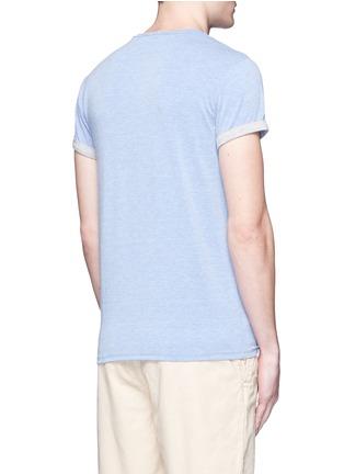 背面 - 点击放大 - SCOTCH & SODA - 品牌胶印卷边袖T恤