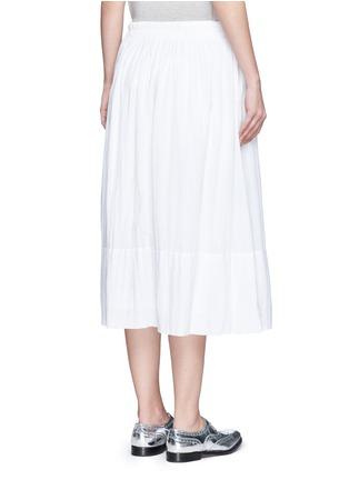 背面 - 点击放大 - JAMES PERSE - 皱感纯棉半身长裙