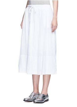 正面 -点击放大 - JAMES PERSE - 皱感纯棉半身长裙
