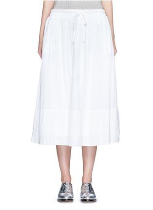 首图 - 点击放大 - JAMES PERSE - 皱感纯棉半身长裙
