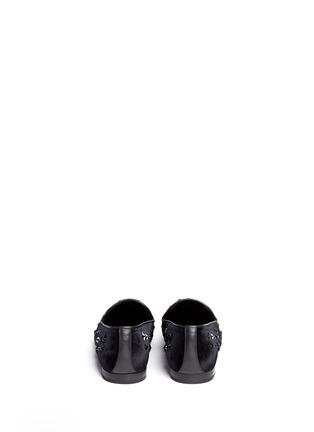 背面 - 点击放大 - JIMMY CHOO - Sloane星星缀饰丝绒平底便鞋
