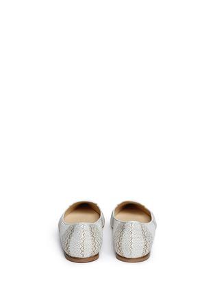 背面 - 点击放大 - JIMMY CHOO - ATTILA民族花纹尖头平底鞋