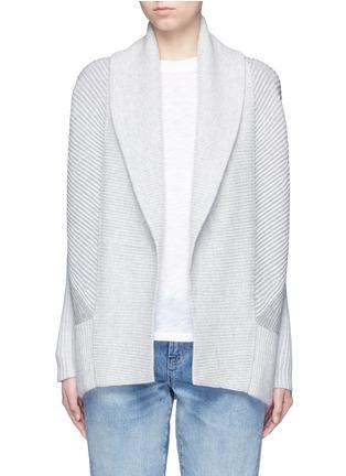 首图 - 点击放大 - Vince - 拼色羊毛混羊绒针织外套