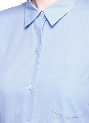 细节 - 点击放大 - THEORY - PERFECT纯棉衬衫