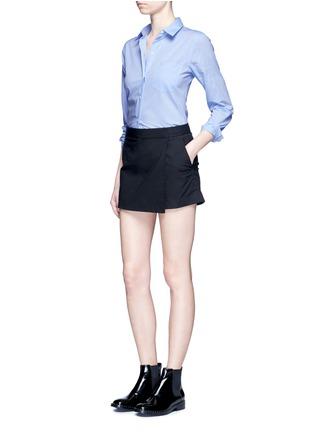 模特儿示范图 - 点击放大 - THEORY - PERFECT纯棉衬衫