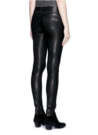 背面 - 点击放大 - RAG & BONE/JEAN - 修身羊皮弹力长裤