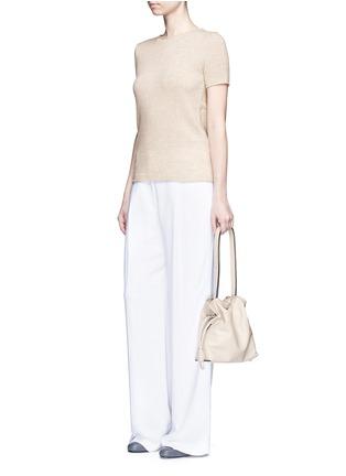 模特儿示范图 - 点击放大 - THEORY - Tolleree羊绒针织T恤
