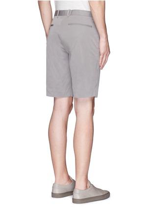 背面 - 点击放大 - THEORY - 竖条纹混棉短裤