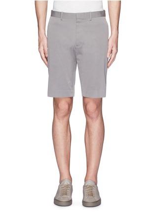 首图 - 点击放大 - THEORY - 竖条纹混棉短裤
