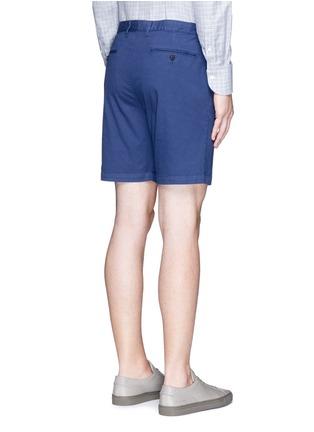 背面 - 点击放大 - THEORY - 单色棉质短裤