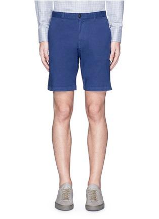 首图 - 点击放大 - THEORY - 单色棉质短裤