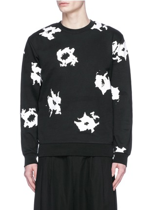 首图 - 点击放大 - MC Q - 抽象印花纯棉卫衣
