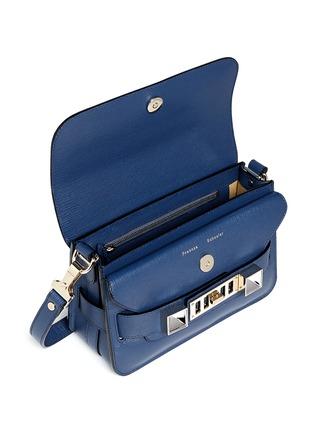 细节 - 点击放大 - PROENZA SCHOULER - 'PS11' mini saffiano leather satchel