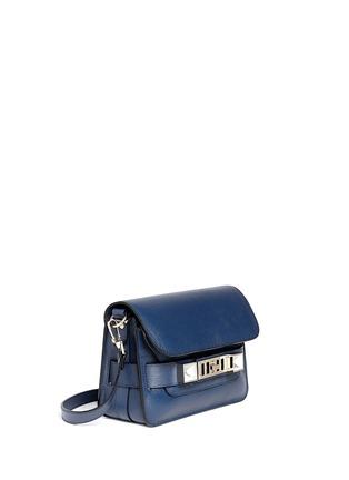 模特示范图 - 点击放大 - PROENZA SCHOULER - 'PS11' mini saffiano leather satchel