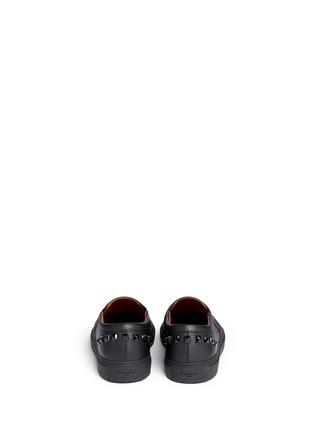 背面 - 点击放大 - GIVENCHY - 铆钉小牛皮运动鞋