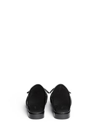 背面 - 点击放大 - 3.1 PHILLIP LIM - LOUIE双搭带装饰穆勒平底鞋