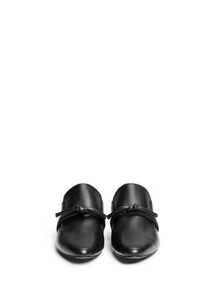 正面 - 点击放大 - 3.1 PHILLIP LIM - LOUIE双搭带装饰穆勒平底鞋