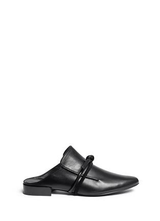 首图 - 点击放大 - 3.1 PHILLIP LIM - LOUIE双搭带装饰穆勒平底鞋