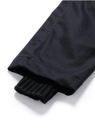 细节 - 点击放大 - SACAI - 单色羊毛长裤