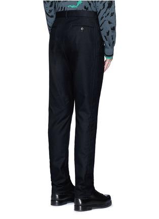 背面 - 点击放大 - SACAI - 单色羊毛长裤